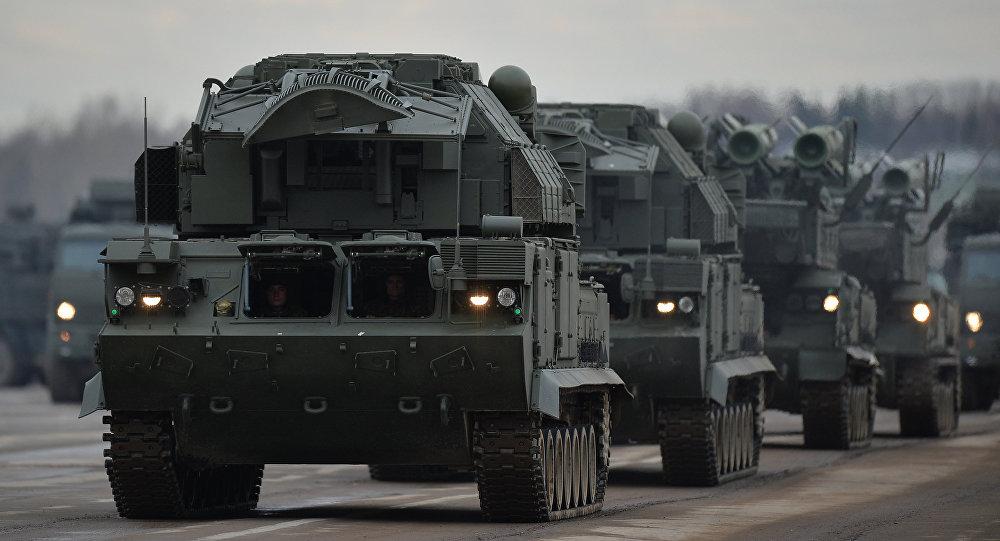 Sistemas antiaéreos rusos Buk-M2