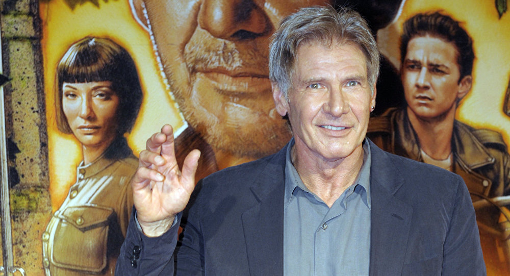 Harrison Ford, actor que interpretó el papel de Indiana Jones