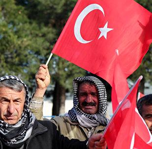 La bandera de Turquía