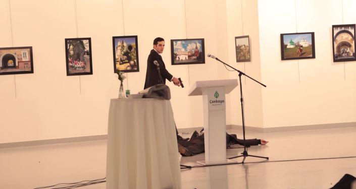 El supuesto asesino del embajador ruso en Turquía
