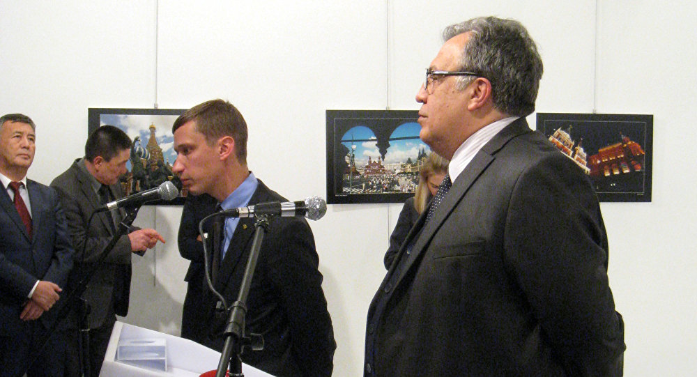 Embajador ruso, Andréi Karlov, asesinado en Turquía