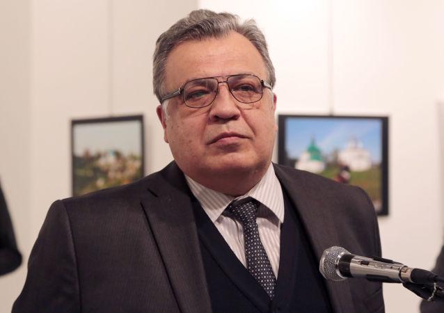 Andréi Kárlov, el embajador ruso en Turquía