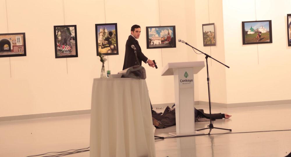 Mevlut Mert Altintas, asesino del embajador ruso Andréi Kárlov