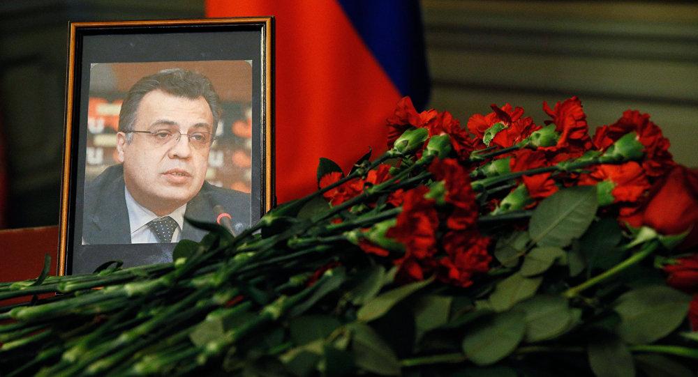 Morte brutal do embaixador da Rússia na Turquia: O tiro que sairá pela culatra