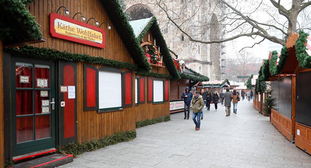 Una feria navideña en Berlín