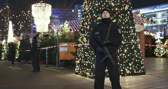 Un policía alemán
