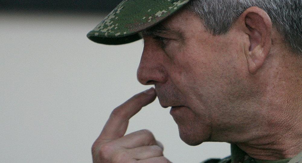 Mario Montoya, exjefe del Ejército de Colombia