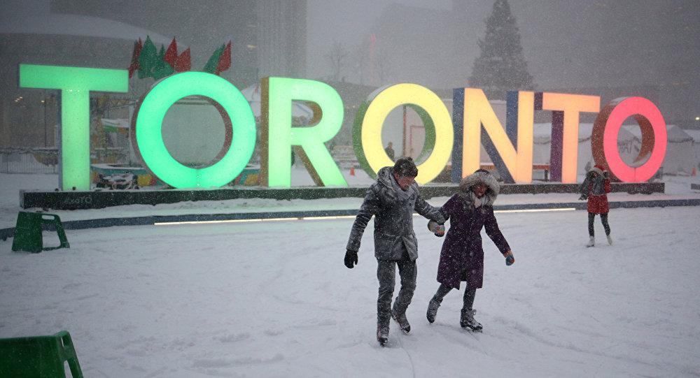 La ciudad canadiense de Toronto