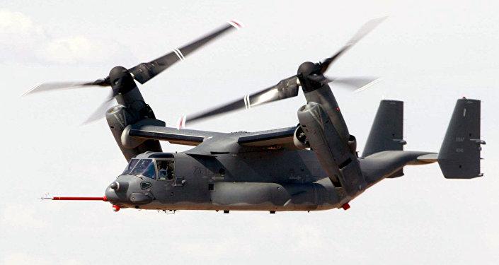 Convertiplano V-22 Osprey (archivo)