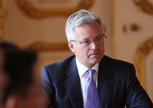 Alan Duncan, Ministro de Estado del Ministerio de Relaciones Exteriores y de la Mancomunidad de Naciones para Europa y las Américas