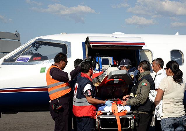 Ambulancia en México (imagen referencial)