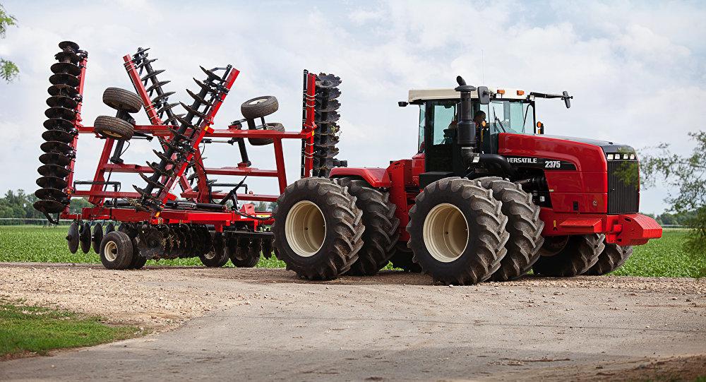 Un tractor (imagen referencial)