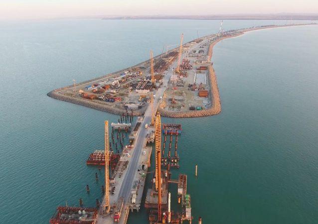 El puente de Crimea, la obra del siglo