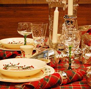 Una cena, imagen referencial