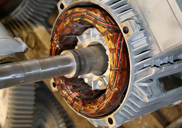 Un motor eléctrico