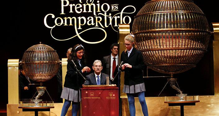 La Lotería de Navidad, el sorteo más importante del año en España (archivo)