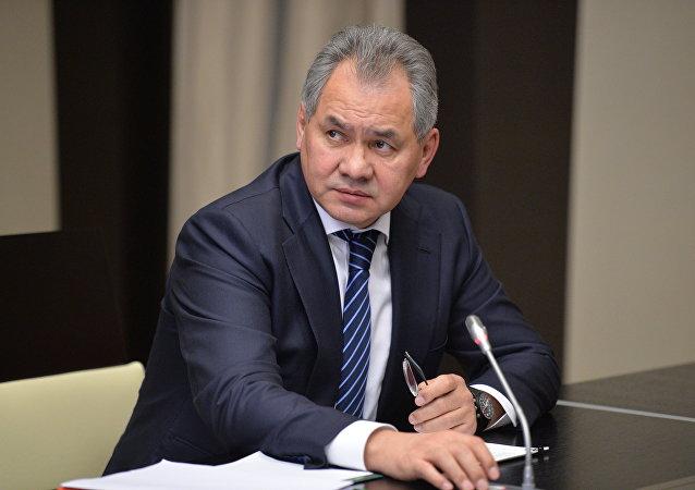 Serguéi Shoigú, el ministro de Defensa de Rusia