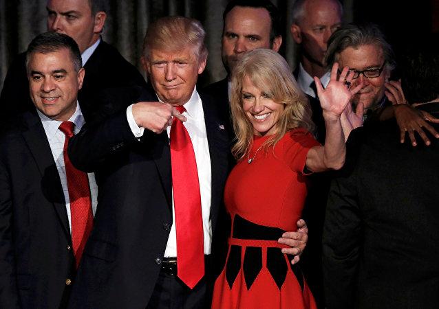 Kellyanne Conway, asesora principal del equipo de transición de Trump