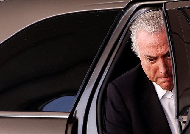 Michel Temer, el presidente de Brasil que asumió el cargo tras el impeachment de Dilma Rousseff