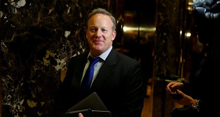 Sean Spicer, director de comunicaciones del Comité Nacional Republicano