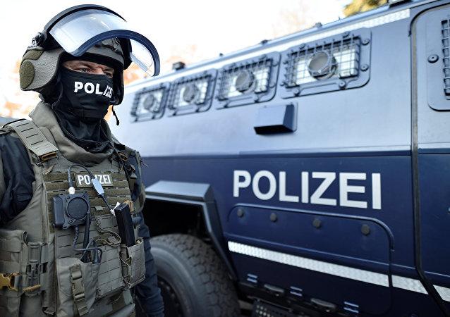 La policía alemana