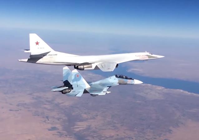Los mejores vuelos de la Aviación Estratégica de Rusia