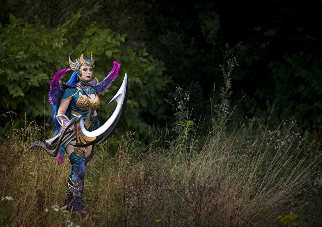 Dark Valkyrie Diana, personaje de League of Legends