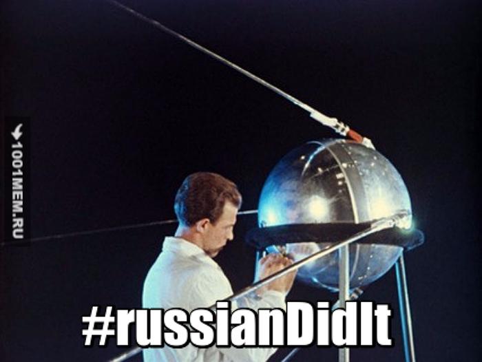 'Los Rusos lo Hicieron': La foto del Sputnik-1, el primer satélite artificial de la tierra