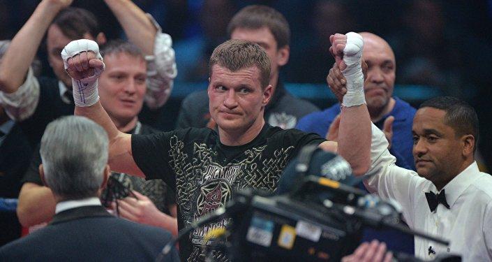 Alexánder Povetkin, boxeador ruso