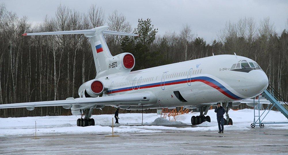 Avión ruso Tu-154
