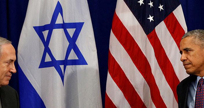 Barack Obama, presidente de EEUU, en la reunión con Benjamin Netanyahu, primer ministro de Israel (archivo)