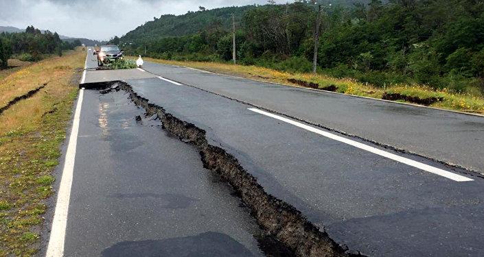 Las comsecuencias de un terremoto (imagen referencial)