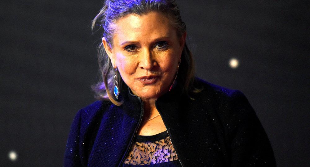 Carrie Fisher, actriz estadounidense