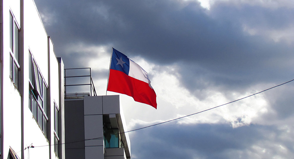 Curico, chilean flag