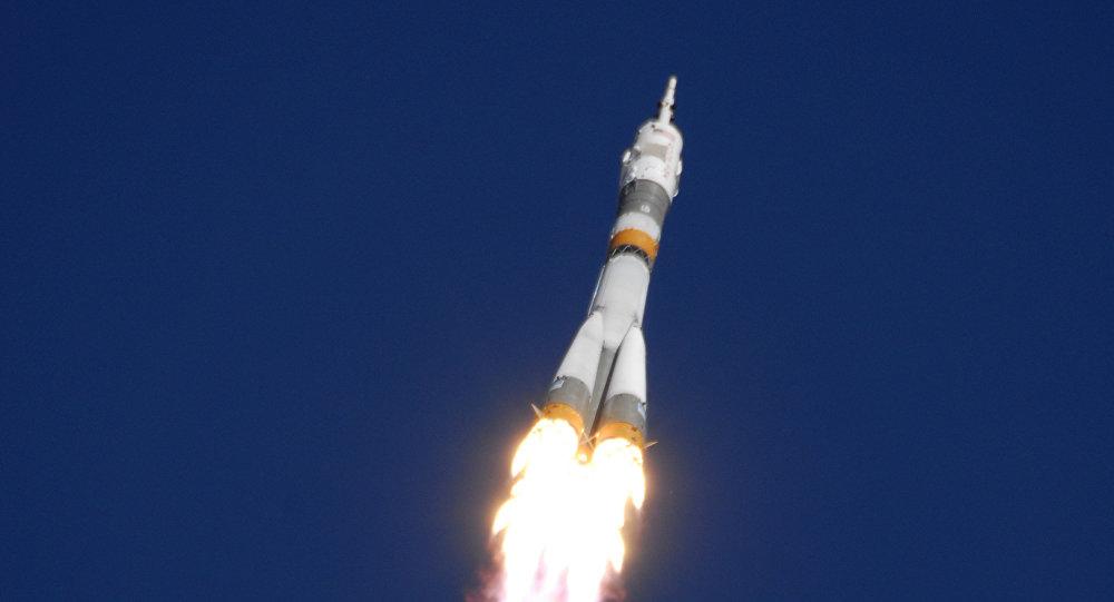 Lanzamiento de misil Soyuz-FG