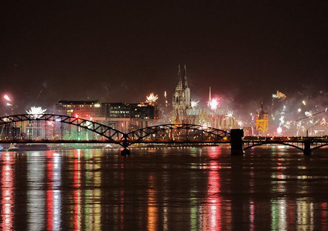 Nochevieja en Colonia, Alemania