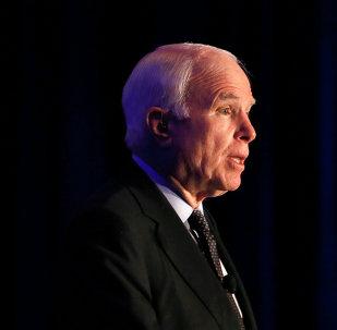 El senador norteamericano John McCain
