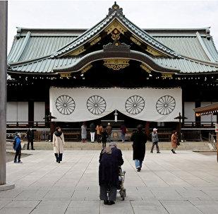 El santuario de Yasukuni, Japón (archivo)