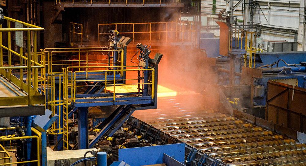 Producción de las tuberías para el gasoducto Turk Stream
