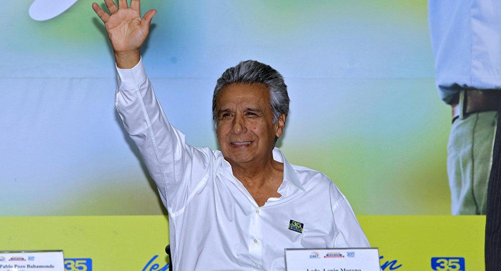 Lenín Moreno, candidato electo a la presidencia de Ecuador