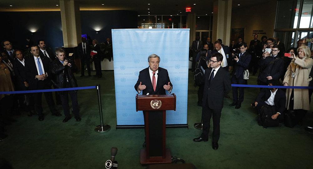 António Guterres, secretario general electo de la ONU