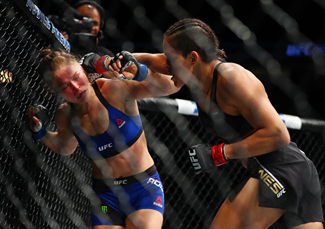 La lucha entre Ronda Rousey y Amanda Nunes