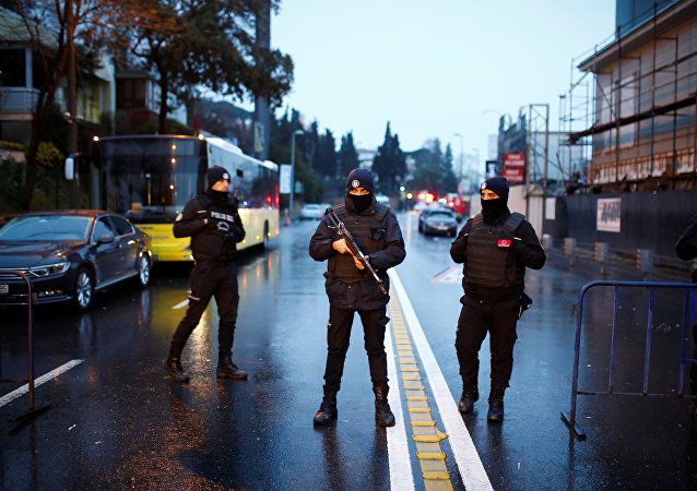 Las fuerzas de seguridad turcas (archivo)
