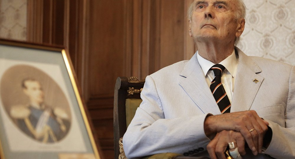 Muere el miembro de más edad de la familia Románov