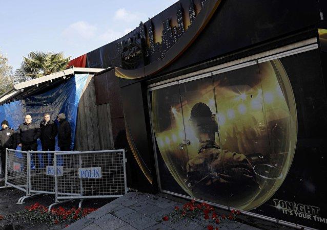 El club nocturno Reina en Estambul, donde fue perpetrado un acto terrorista