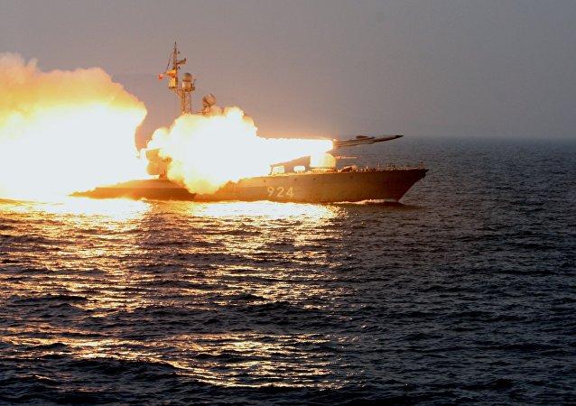 Barco de la Armada de Rusia