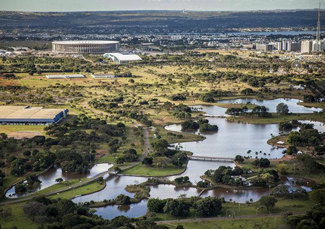 El Parque de la Ciudad de Brasilia es uno de los más grandes de América Latina, con 420 hectáreas