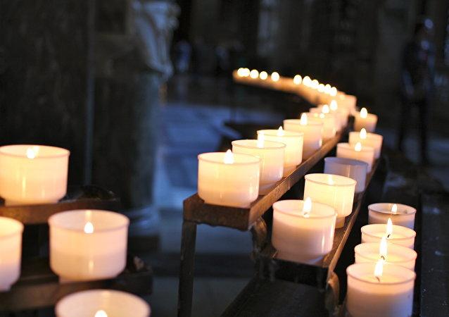 Homenaje a las víctimas del siniestro del Tu-154 en Sochi