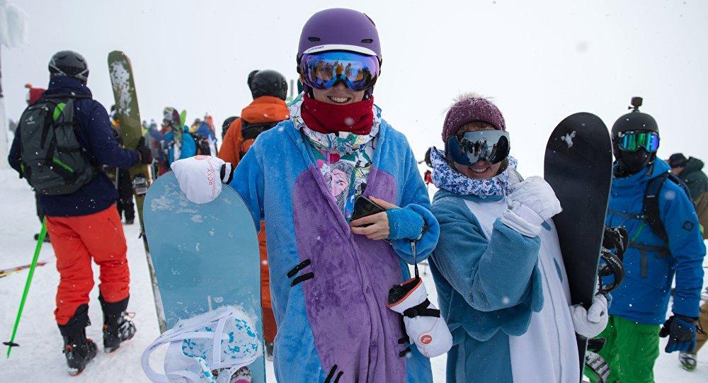 Centro de esquí Roza Jutor, en Sochi
