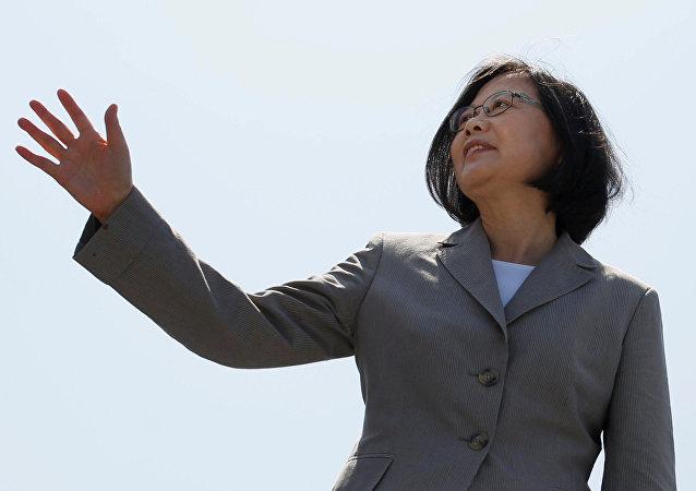 Tsai Ing-wen, presidenta de Taiwán